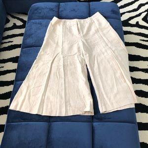 Victoria Secret London Jean Linen Pants Wide Leg